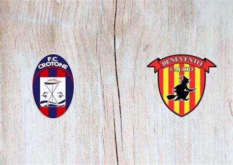 Crotone vs Benevento -Highlights 17 January 2021 ...