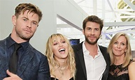 Luke Hemsworth Liam Hemsworth Wife - Miley Cyrus Poses ...