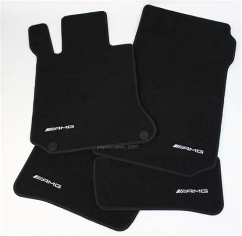 It is available in 4 colours. AMG Floor Mats New W/O packaging - MBWorld.org Forums