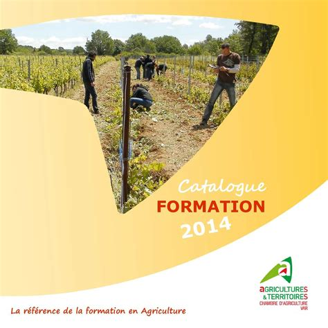 calam 233 o catalogue formation 2014 chambre d agriculture