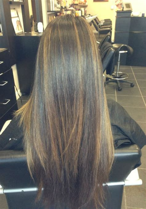 balayage  straight hair short medium length long
