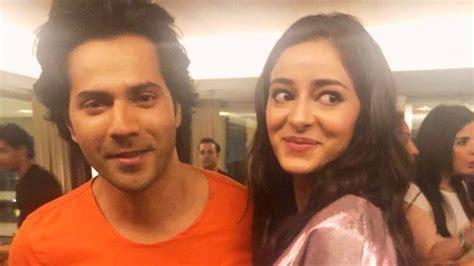 Ananya Panday Finds Varun Dhawan Cute Says Shes In Love