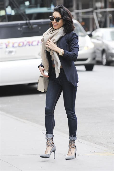 Vanessa Hudgens in Tight Jeans - Out in New York City, May ...
