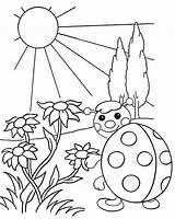 Sunrise Coloring Waiting Cartoon Project Mitraland sketch template