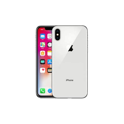apple iphone  gb silver