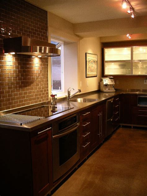 stainless steel countertop ridalco kitchen