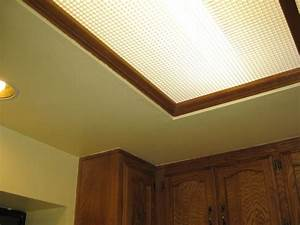Fluorescent lighting decorative kitchen fluorescent light for Fluorescent light covers for kitchen