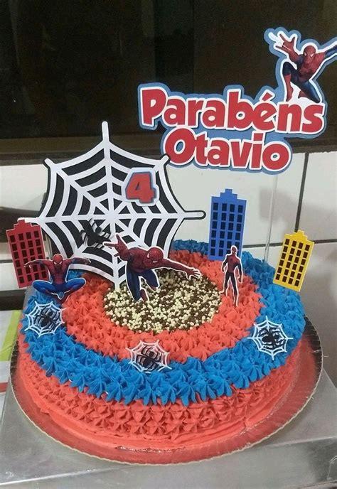 topo de bolo homem aranha no elo7 scrap recortes a366c7