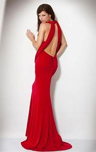Red Backless Prom Dresses - Formal Dresses