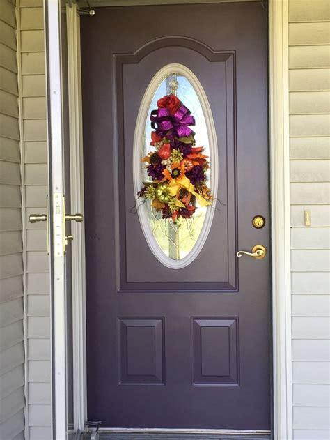 sherwin williams plum brown hgsw front door