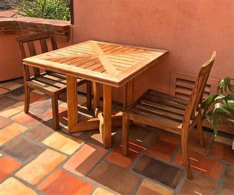 ventura teak pc dining set iksun teak patio furniture sale