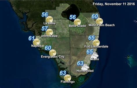 weather sentinel florida sun south tap weekend nice courtesy national service