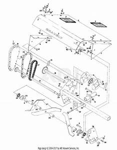 Gravely 22162 Rotary Cultivator 2 Wheel Tractor Parts