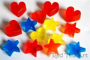 Quick Craft Post: Easy Melt & Pour Soaps - Red Ted Art's Blog
