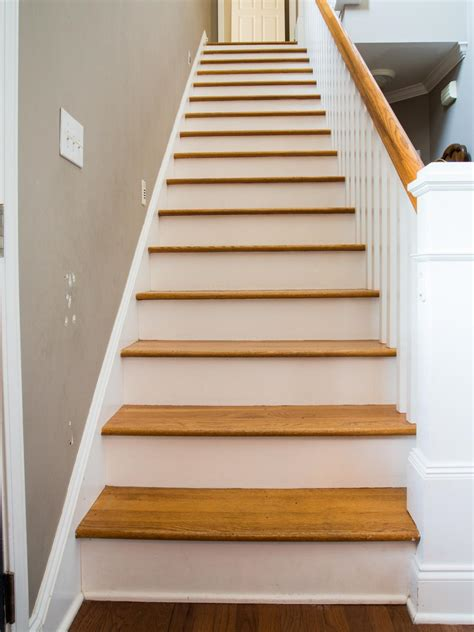 step   stair risers  wallpaper hgtv