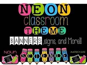 25 best ideas about Neon Classroom Decor on Pinterest