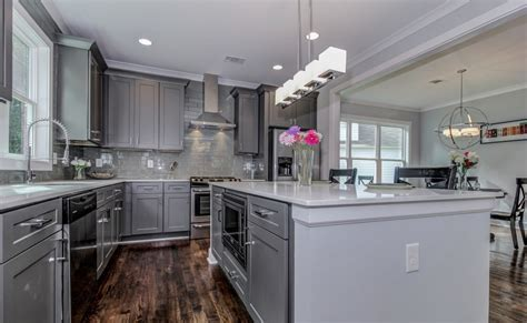gray kitchen design modern gray black kitchen designs the rta 1322