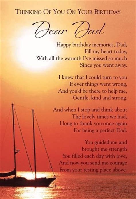 happy birthday dad  heaven quotes  facebook image
