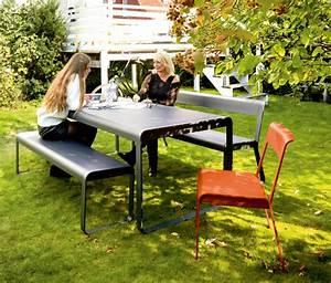Meubles De Jardin Design : meubles de jardin fermob 0 banc bellevie fermob de ~ Dailycaller-alerts.com Idées de Décoration