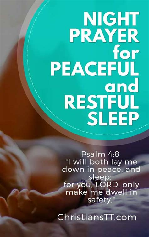 night prayer  peaceful  restful sleep christianstt