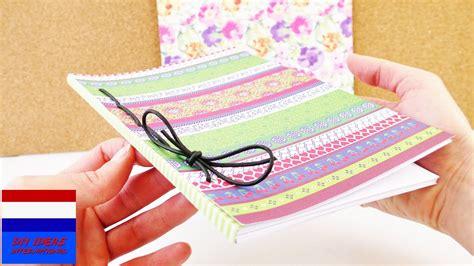 diy zelf notitieboekje dagboek maken zelf boekbinden