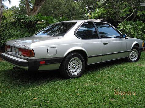 Bmw 633csi by 1984 Bmw 633csi For Sale Miami Florida