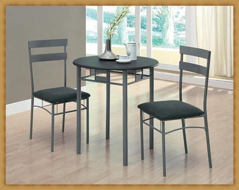 Small Bistro Table Set For Kitchen & Extraordinary Small