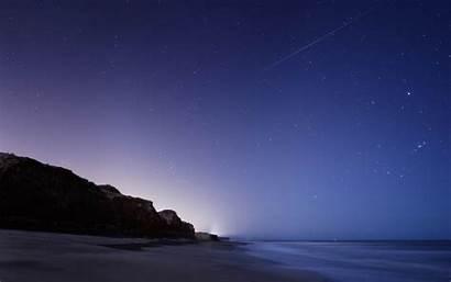 Stars Landscape Sky Night Twilight Background Awesome