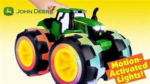 John Deere Kids Monster Treads Deluxe Lightning Wheels ...