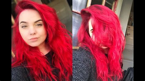 How To Dye And Maintain Bright Red Hair Without Bleach