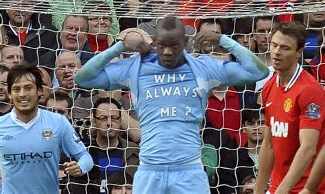 Mario Balotelli explains Why Always Me? shirt | Daily Mail ...
