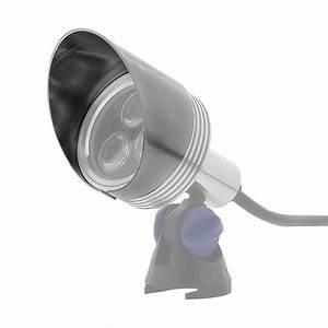 Glare shield fits watt led spot light mm g lux