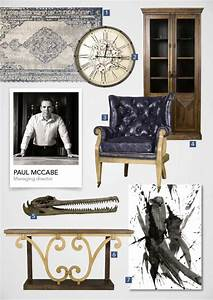 Classic masculine pieces from shf sa garden and home for Best brand of paint for kitchen cabinets with statements 2000 wall art