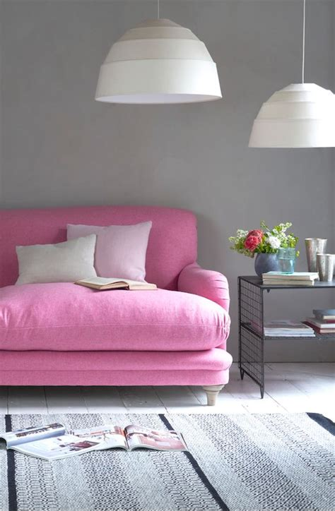 Pale Pink Sofa by Blush Pink And Pale Green Interior Colour Palette Ideas