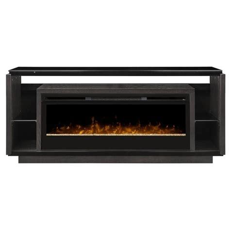 dimplex electric fireplace tv stand dimplex david glass ember bed electric fireplace tv stand