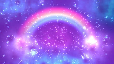 rainbow clouds  wallpaper orbs field aavfx