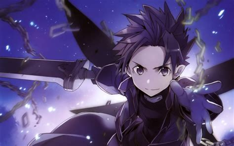 Anime Wallpaper Sao - desktop wallpaper kirito sword anime sao hd