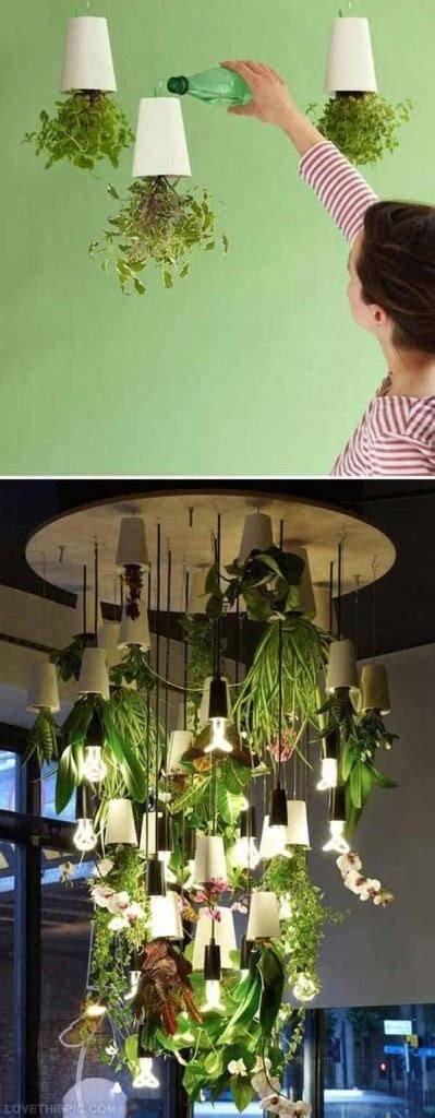 smart miniaturized indoor garden projects