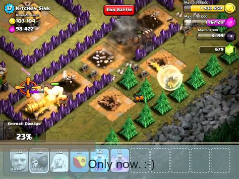 coc kitchen sink clash of clans kitchen sink v2 with th7 troops 2294