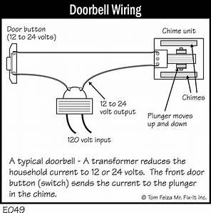 Mechanical Doorbell Wiring  U0026 Simple How To Wire A Doorbell