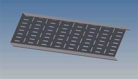 cable tray   cad model library grabcad