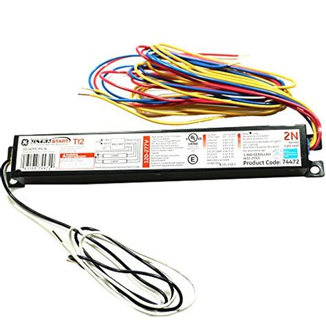 Fluorescent T12 Ballast Wiring by Fluorescent Light Ballast