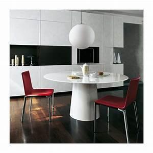 table de salle a manger extensible 2 table ronde design With salle À manger contemporaineavec table ronde salle À manger design