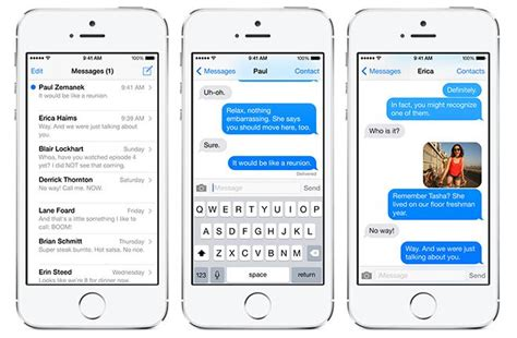 iphone 5s messages apple s transparent texting tech lets iphone users