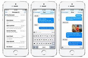 Apple's 'transparent texting' tech lets iPhone users ...