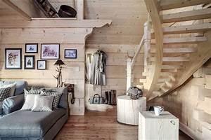 Decoration Interieur Chalet Bois : d coration chalet int rieur incontournables pour r ussir ~ Zukunftsfamilie.com Idées de Décoration