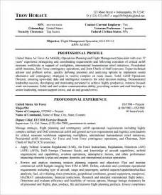 to federal resume template federal resume template 10 free sles exles