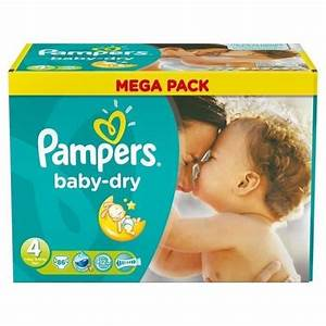 Pack 86 Couches Pampers Baby Dry Taille 4 Maxi 7 18 Kg