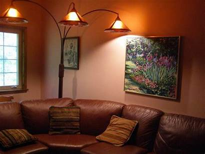 Lamp Floor Placement Living Decorating