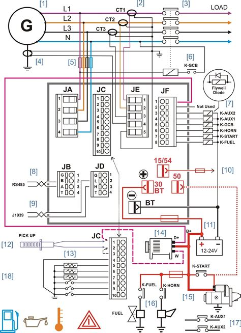 ats wiring diagram for standby generator free wiring diagram